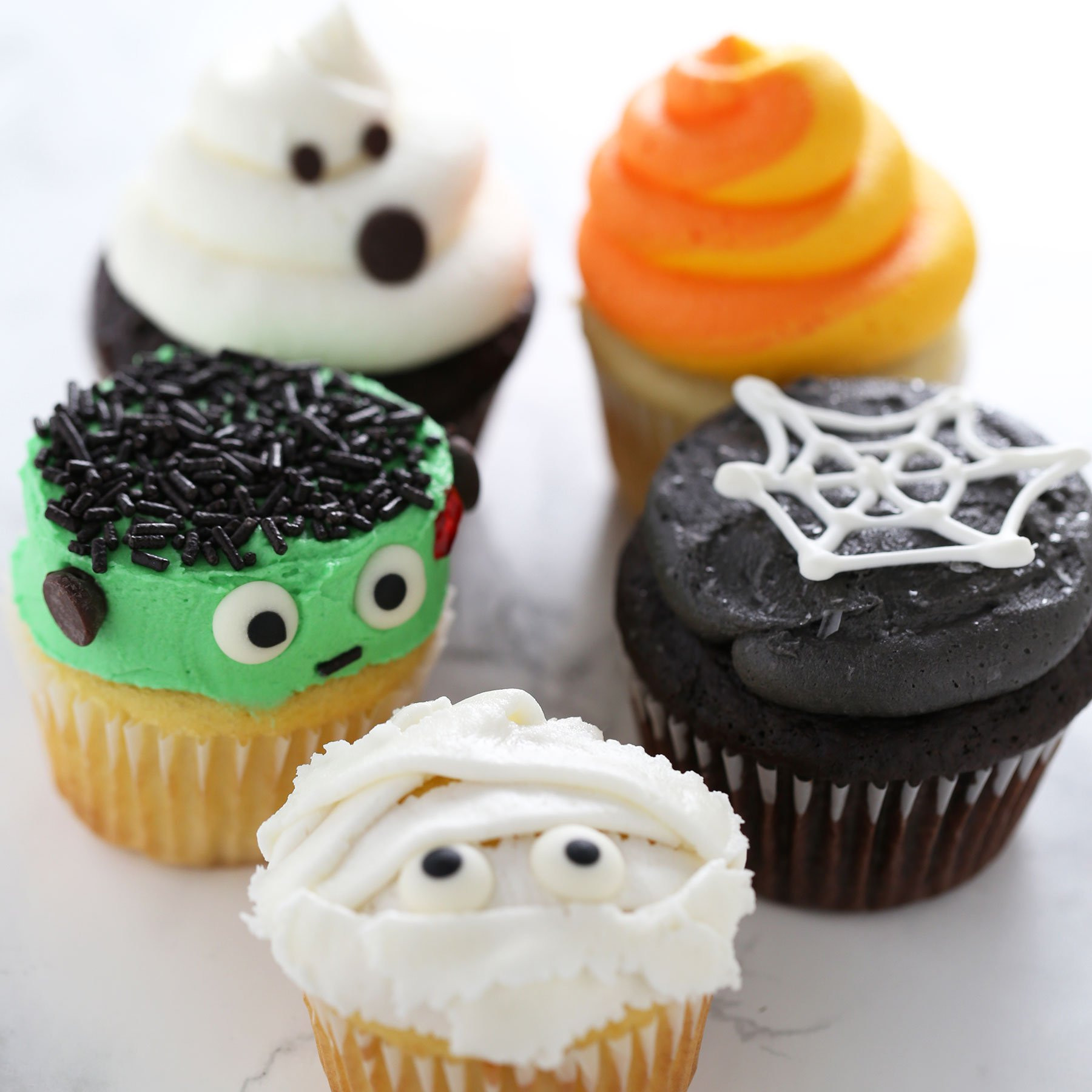 Funny Halloween Cupcakes  How to Make Halloween Cupcakes Handle the Heat