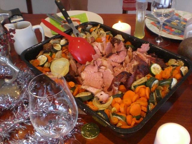 German Christmas Dinner  A little German Christmas Dinner
