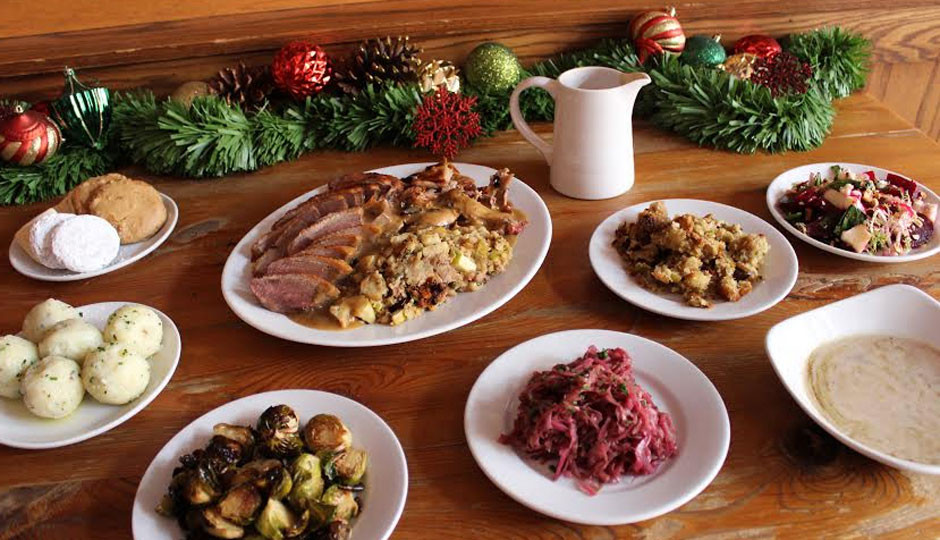 German Christmas Dinner  Celebrate an Early Christmas Dinner German Style At
