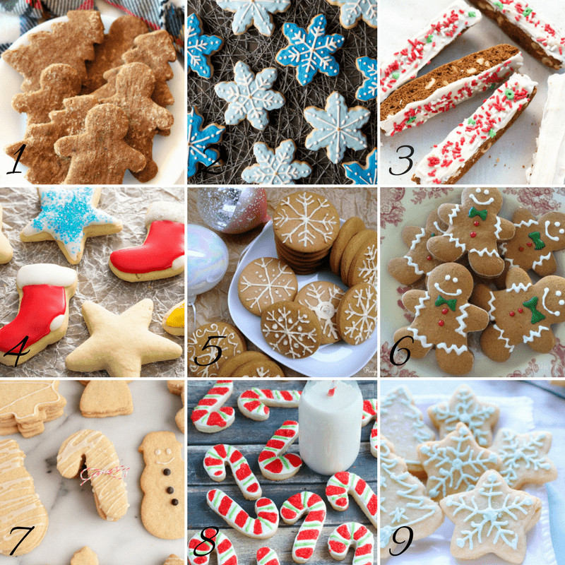Gf Christmas Cookies  The Best Gluten Free Christmas Cookie Recipes Life After