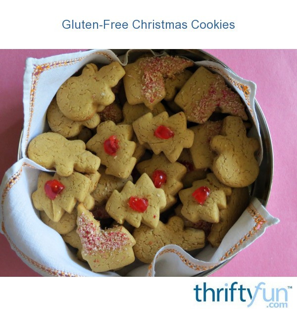 Gluten Free Christmas Cookies  Gluten Free Christmas Cookies