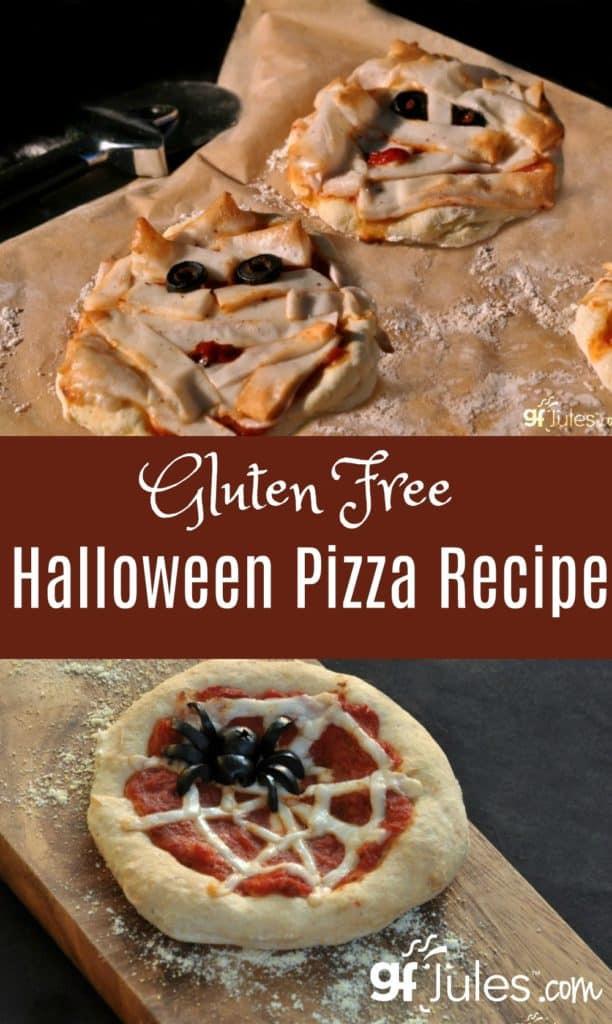 Gluten Free Halloween Recipes  Gluten Free Halloween Pizza Recipe crusts like you re