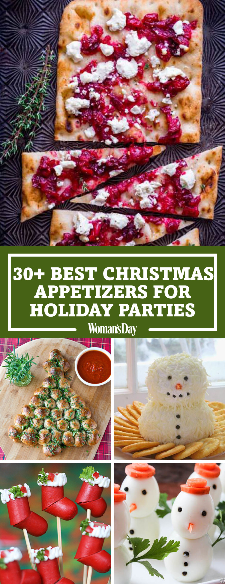 Good Appetizers For Christmas Party  30 Easy Christmas Party Appetizers Best Recipes for
