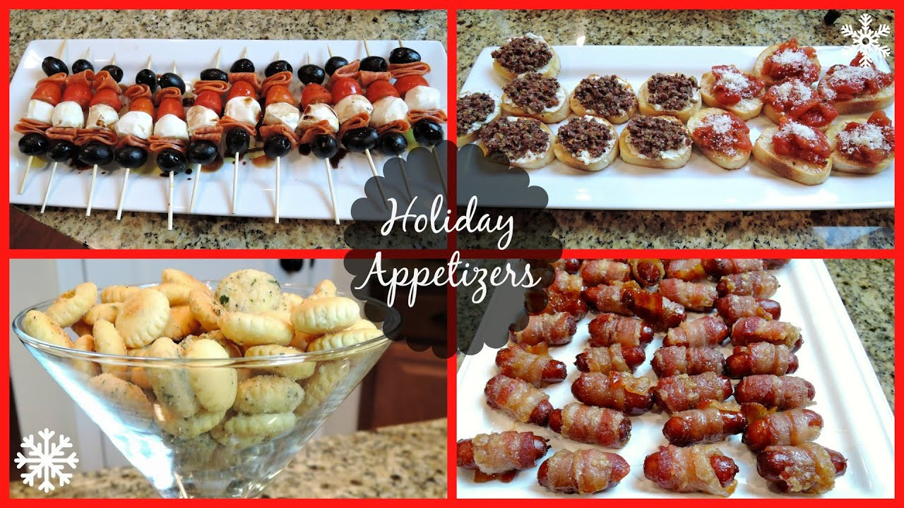 Good Appetizers For Christmas Party  HOLIDAY PARTY APPETIZERS