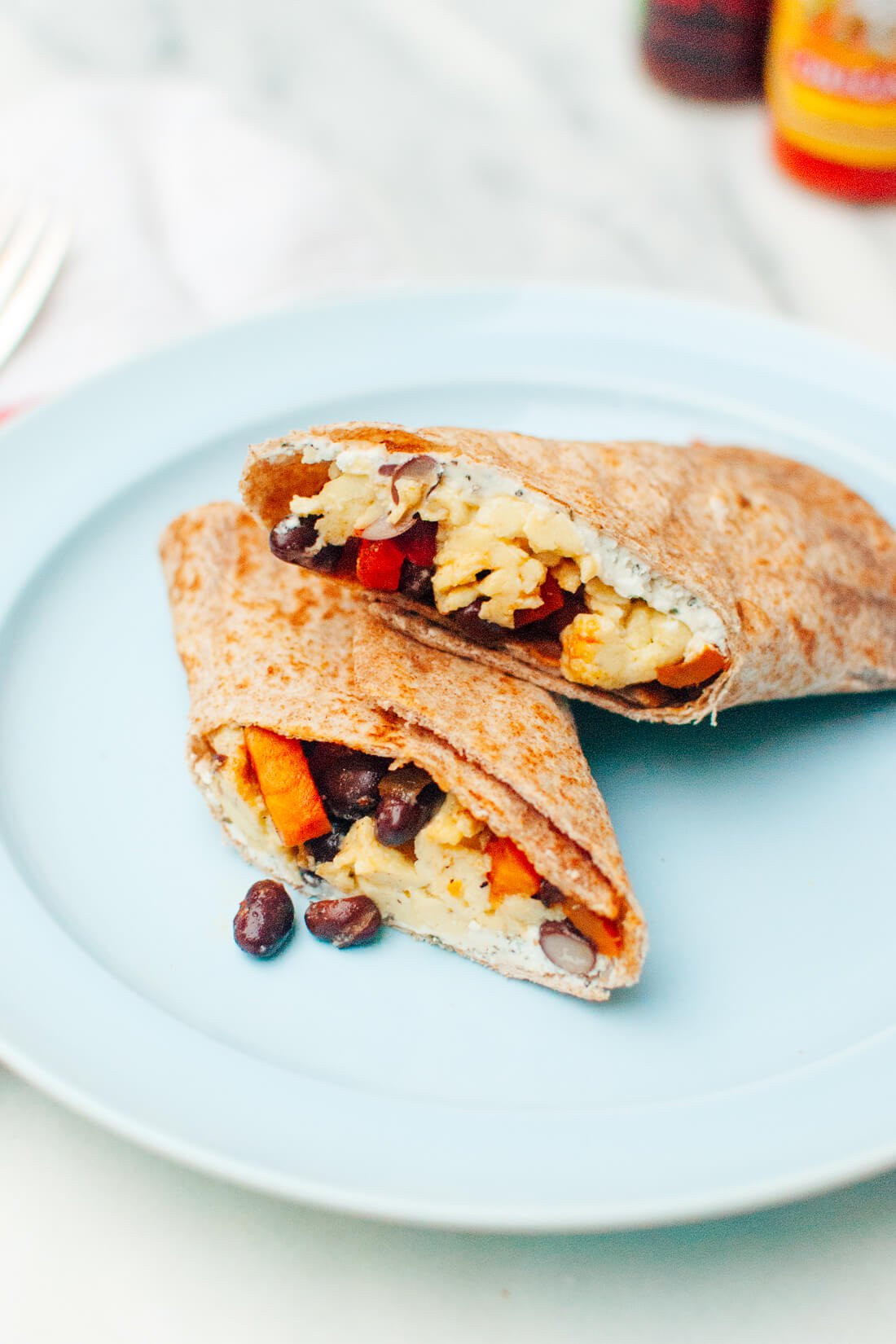 Good Burritos Don'T Fall Apart  Healthy Freezer Breakfast Burritos Cookie and Kate
