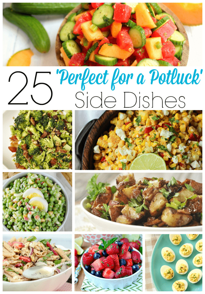 Good Christmas Side Dishes  25 Perfect for a Potluck Side Dishes Your Homebased Mom