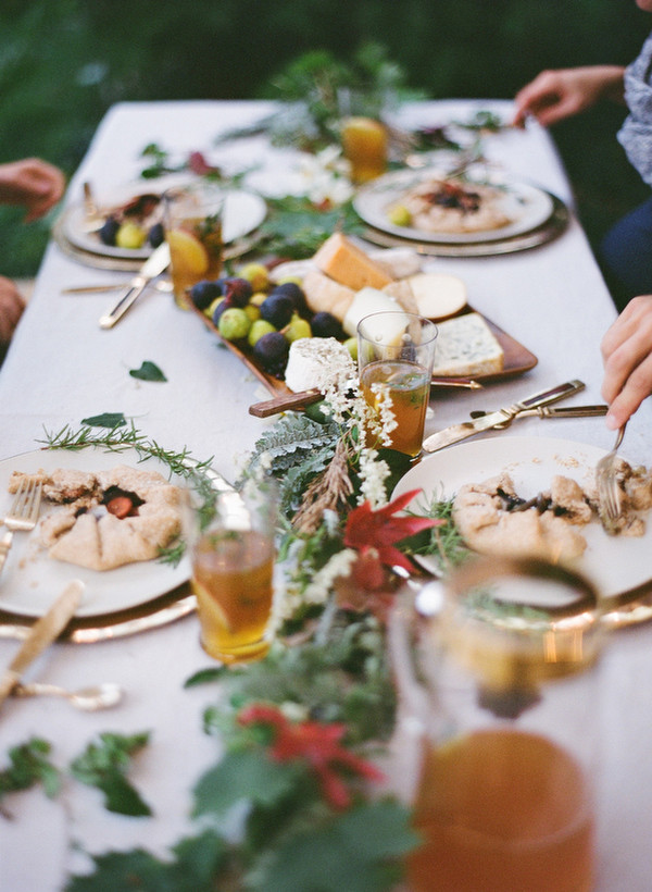 Good Fall Dinners  Fall Wedding Dinner Ideas ce Wed