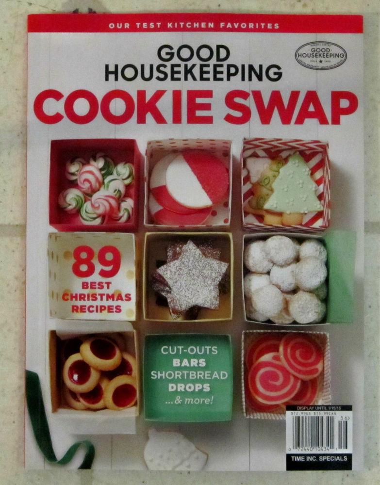 Good Housekeeping Christmas Cookies  Good Housekeeping COOKIE SWAP Special Edition 89 BEST