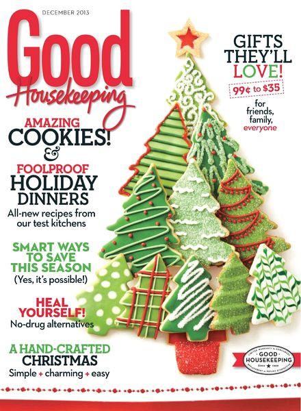 Good Housekeeping Christmas Cookies  Download Good Housekeeping USA – December 2013 PDF Magazine