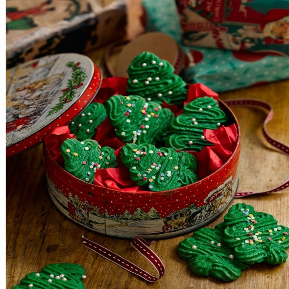 Good Housekeeping Christmas Cookies  Christmas spritz cookies Christmas biscuits Good