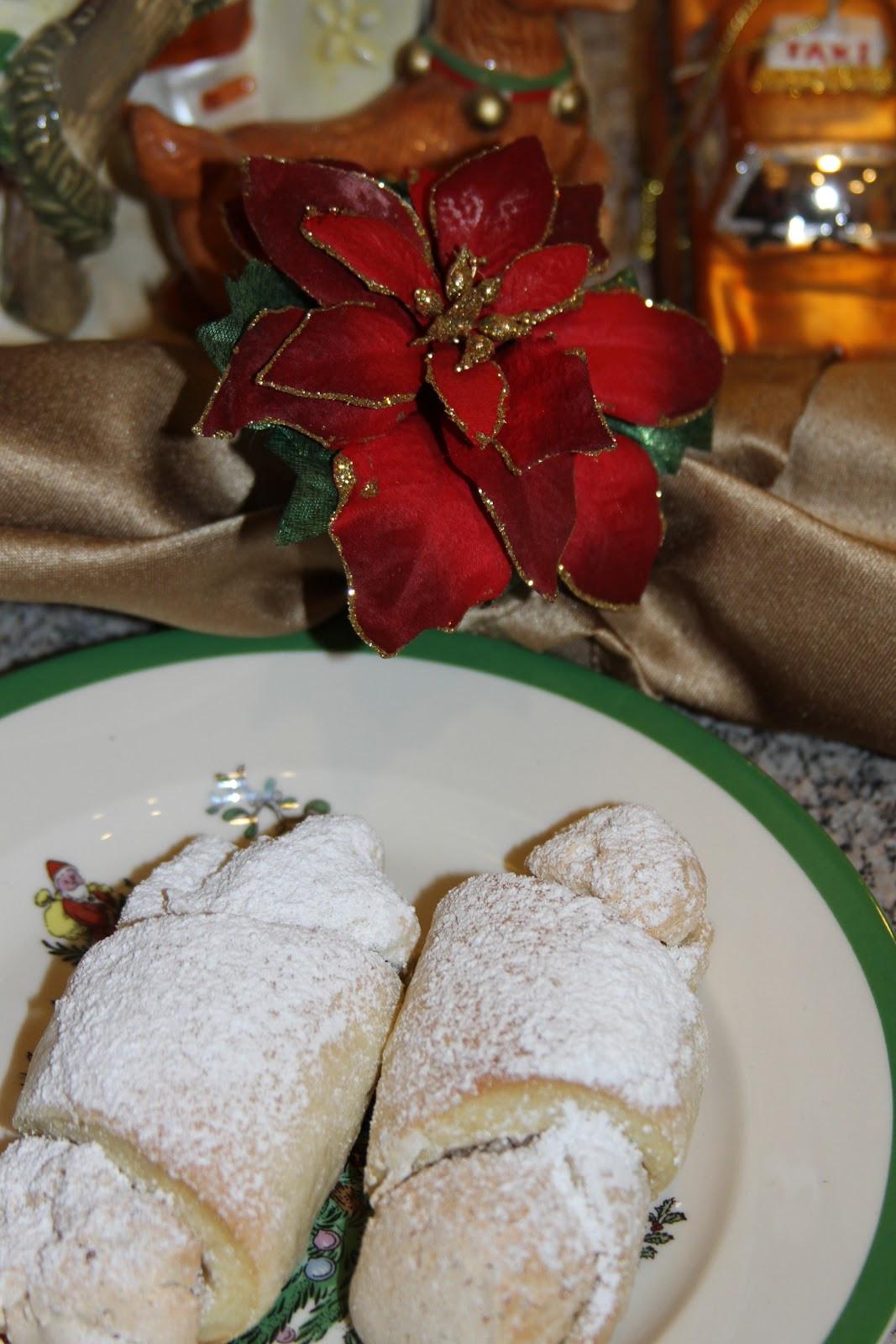 Great Christmas Cookies  The Isa Guru Mom s Hungarian Butterhorn Recipe A Great