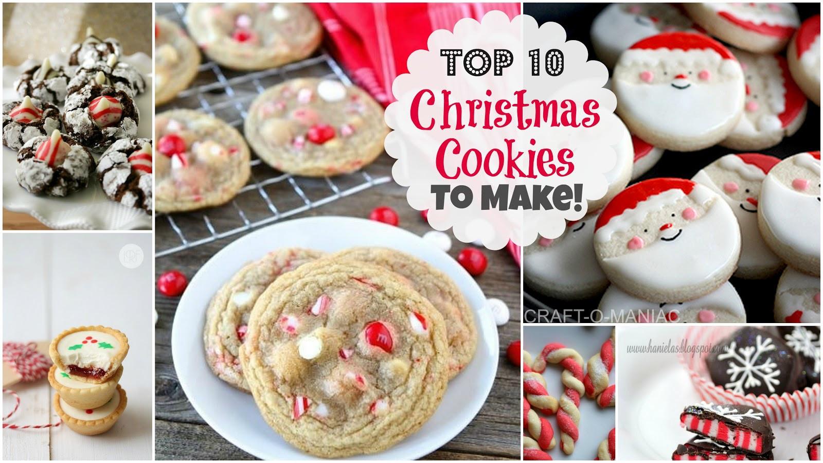 Great Christmas Cookies  Top 10 Christmas Cookies to Make Craft O Maniac