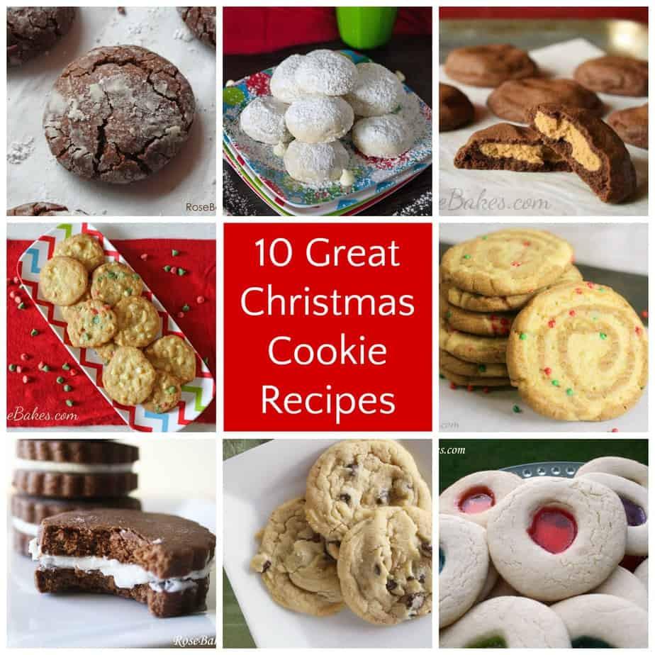Great Christmas Cookies  10 Great Christmas Cookie Recipes Rose Bakes