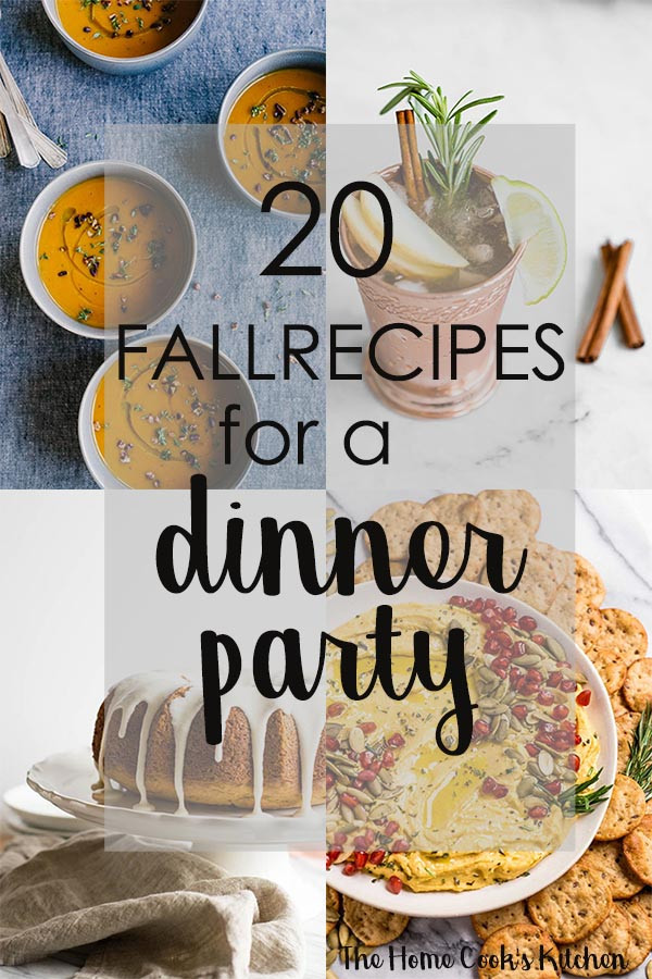 Great Fall Dinners  20 Fall Recipe Ideas for a Crowd
