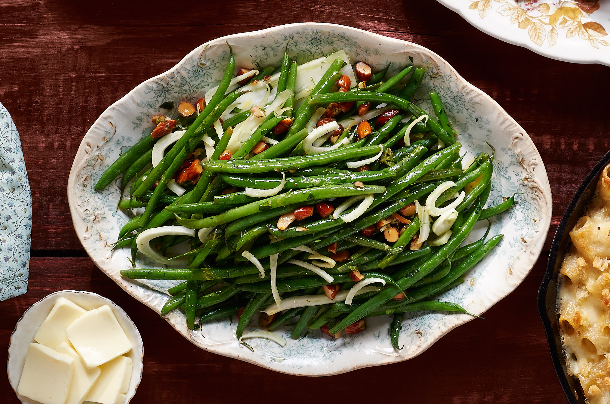 Green Thanksgiving Side Dishes  Green Beans and Fennel with Tarragon
