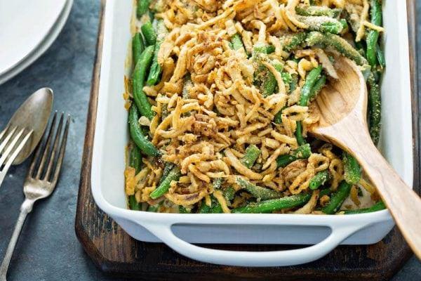 Green Thanksgiving Side Dishes  Green Bean Casserole