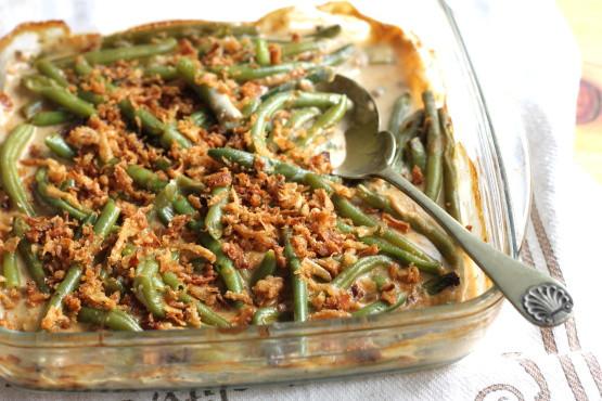Green Thanksgiving Side Dishes  Green Bean Casserole Recipe Genius Kitchen
