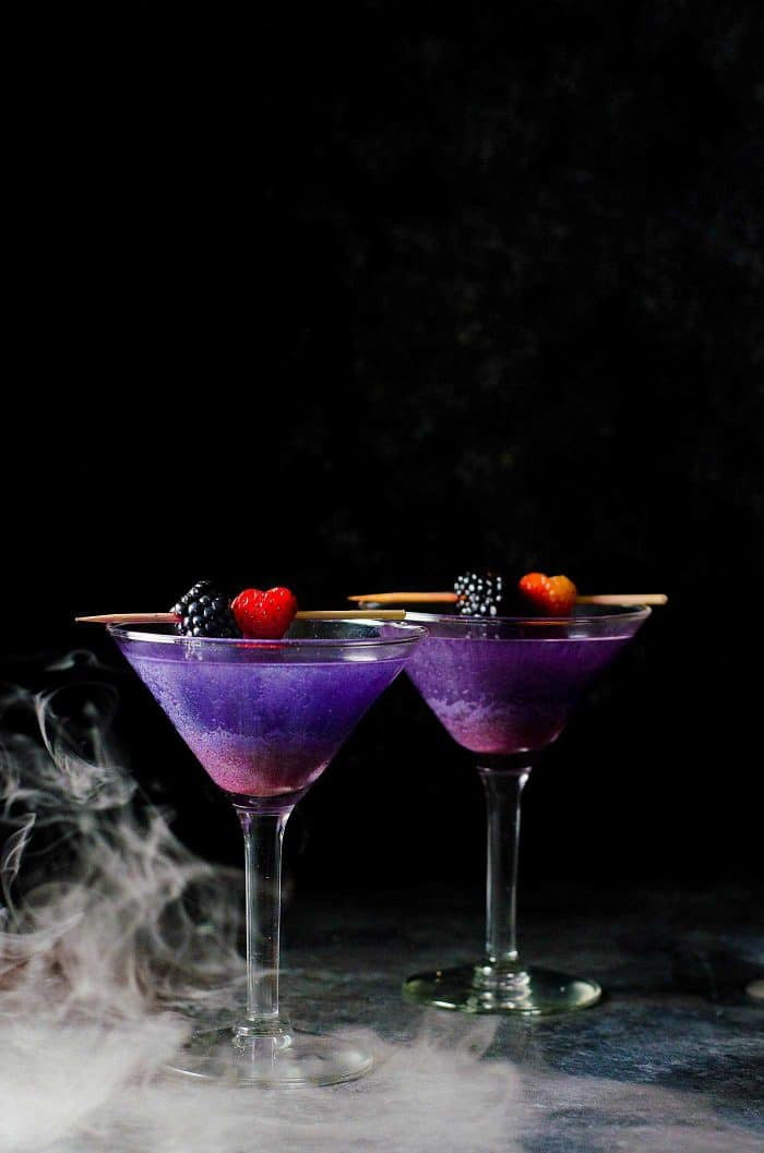 Halloween Alcoholic Drinks  The Witch s Heart Halloween Cocktail The Flavor Bender