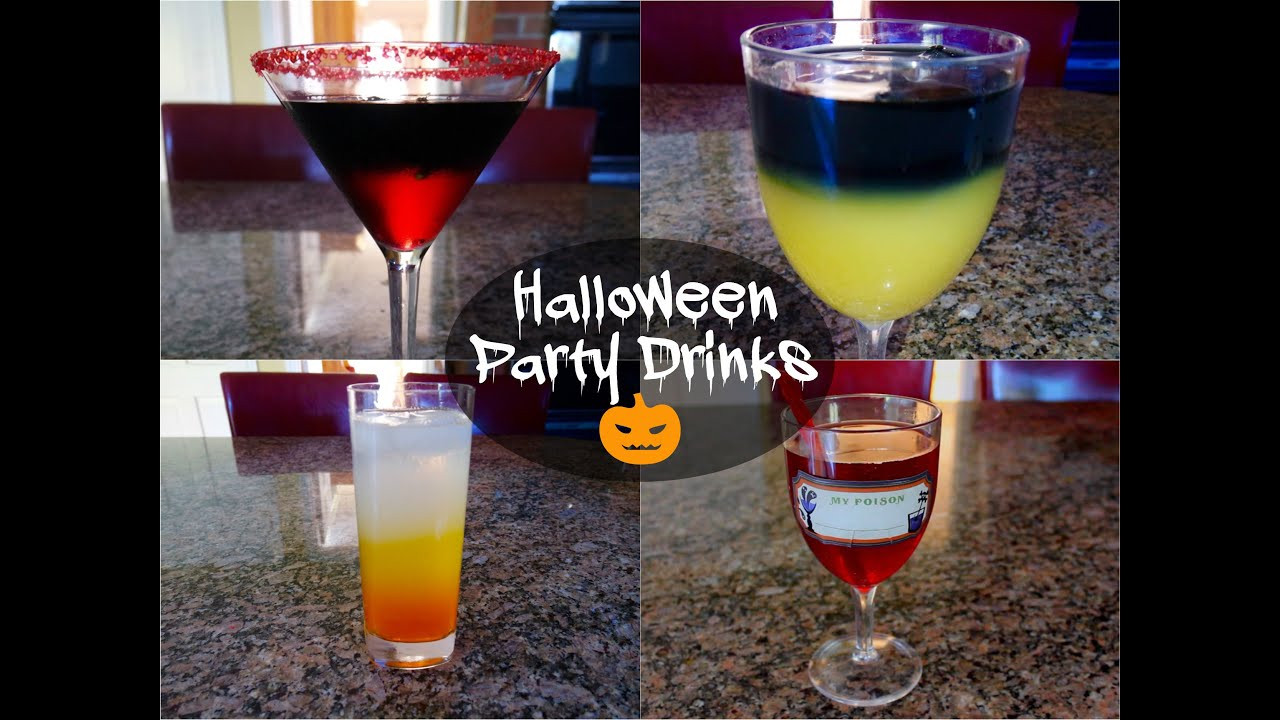Halloween Alcoholic Drinks  Halloween Party Drinks Alcoholic & Non Alcoholic