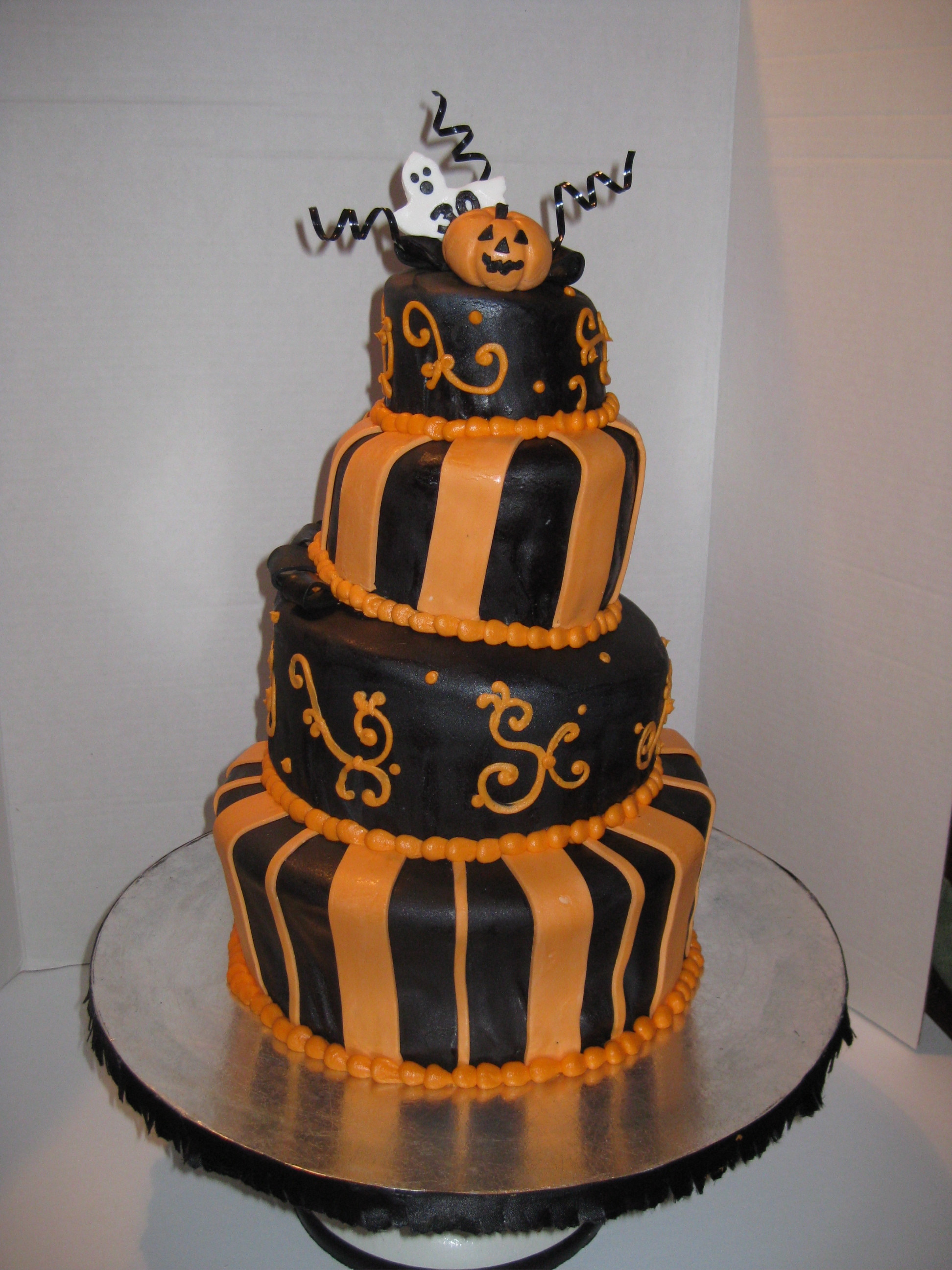 Halloween Birthday Cake Pictures  Special Occasions