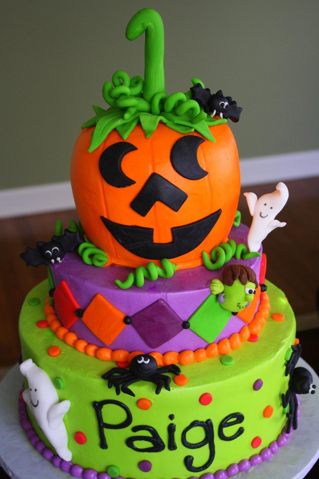Halloween Birthday Cake Pictures  Claudine Halloween Weekend
