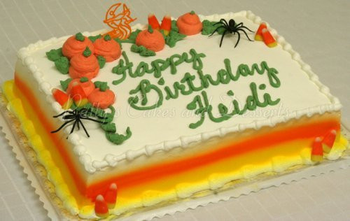 Halloween Birthday Sheet Cakes  Adult birthday cakes Archives Patty s Cakes and Desserts