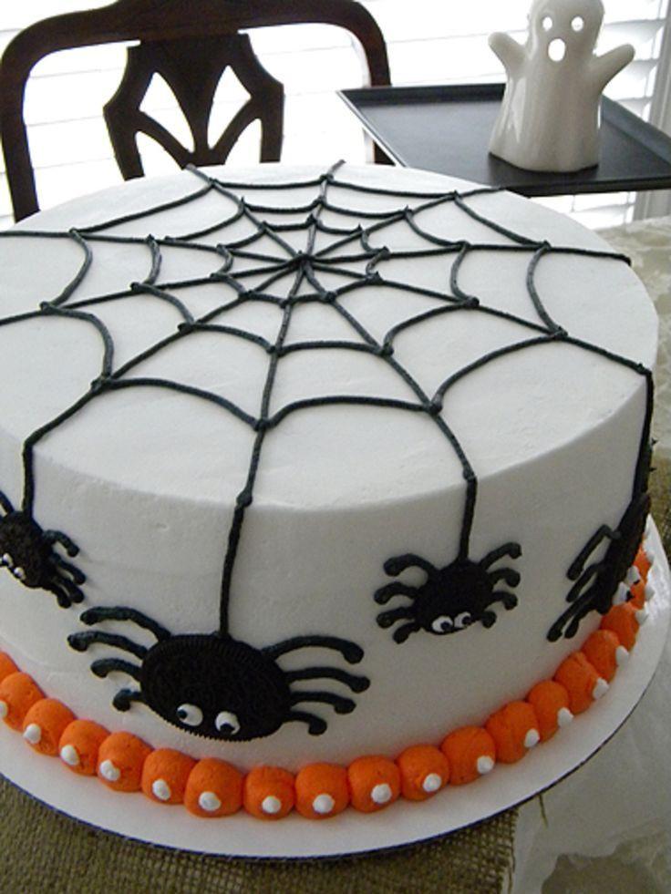 Halloween Birthday Sheet Cakes  Best 25 Halloween cake decorations ideas on Pinterest