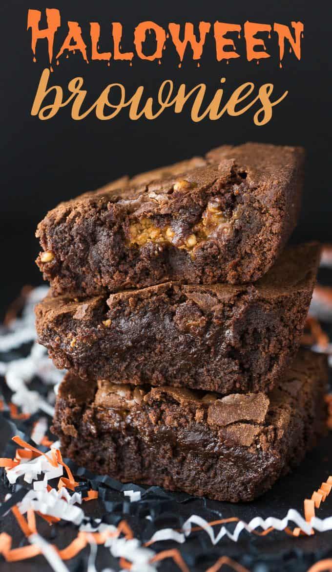 Halloween Brownies Recipes  Halloween Brownies Simply Stacie