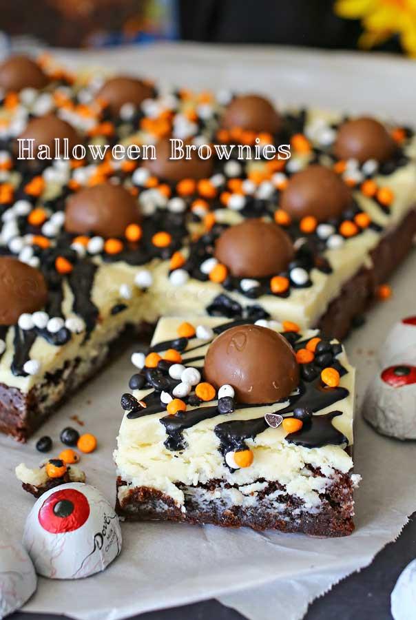 Halloween Brownies Recipes  Halloween Brownies Kleinworth & Co