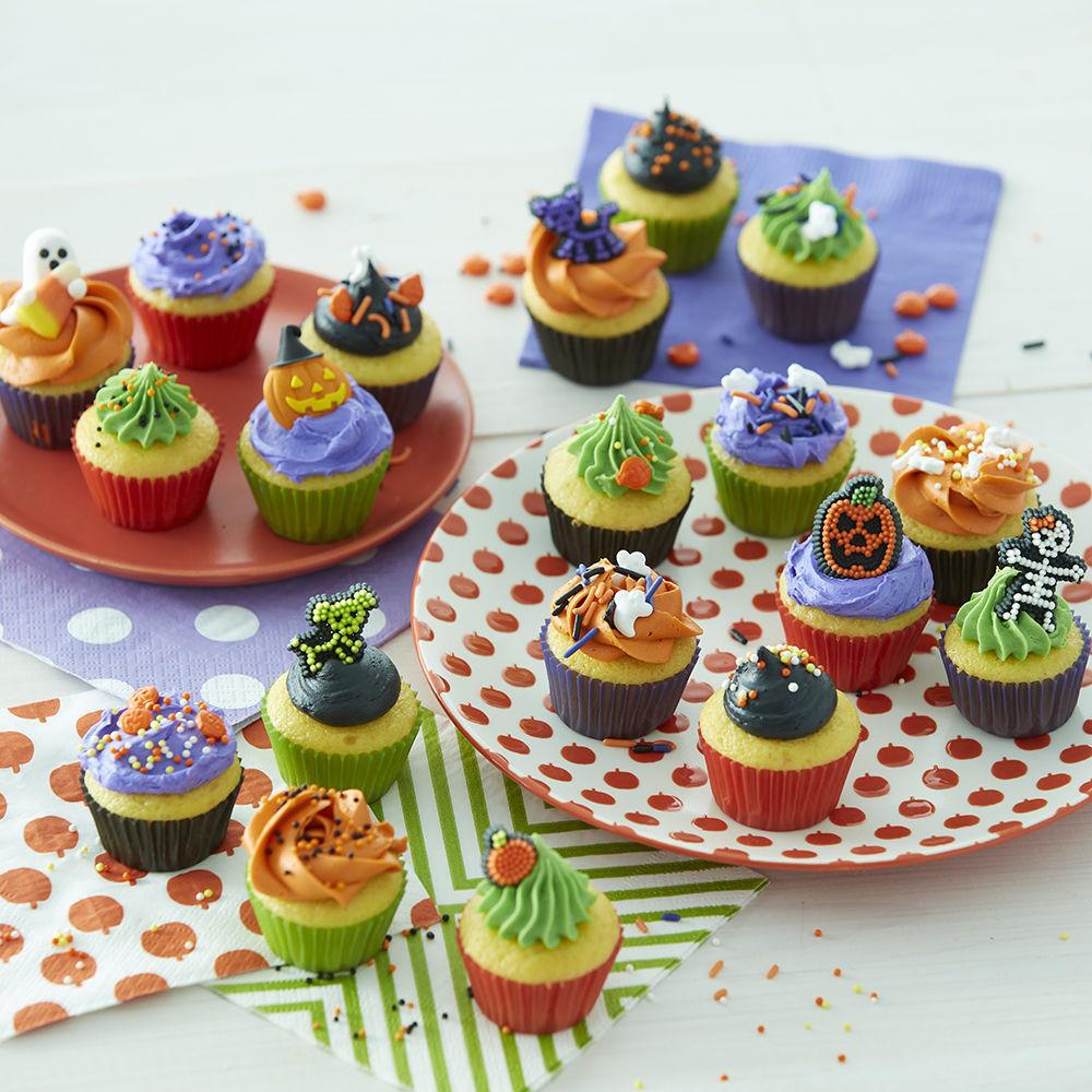 Halloween Cakes And Cupcakes  Halloween Mini Cupcakes