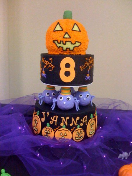 Halloween Cakes For Kids  23 best images about Cakes for Halloween on Pinterest