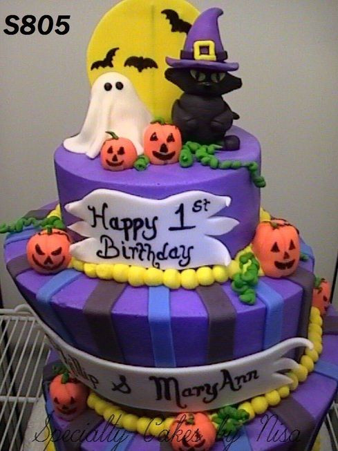 Halloween Cakes For Kids  1000 images about Halloween Cakes on Pinterest