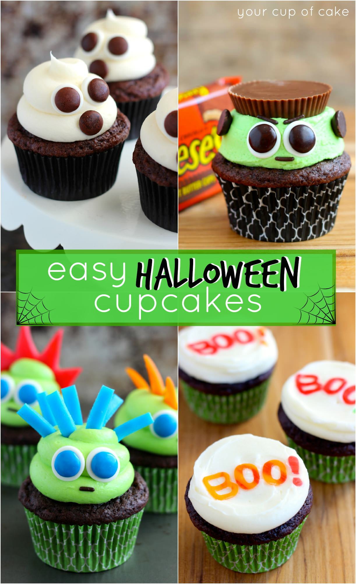 Halloween Cakes Ideas  Easy Halloween Cupcake Ideas Your Cup of Cake