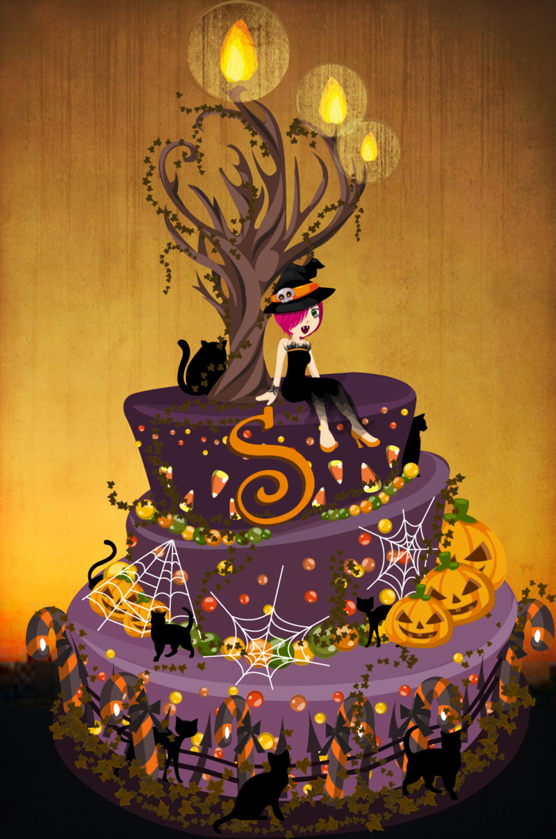Halloween Cakes Pinterest  Pin Scary Halloween Cakes And Cupcake Recipes Canadian