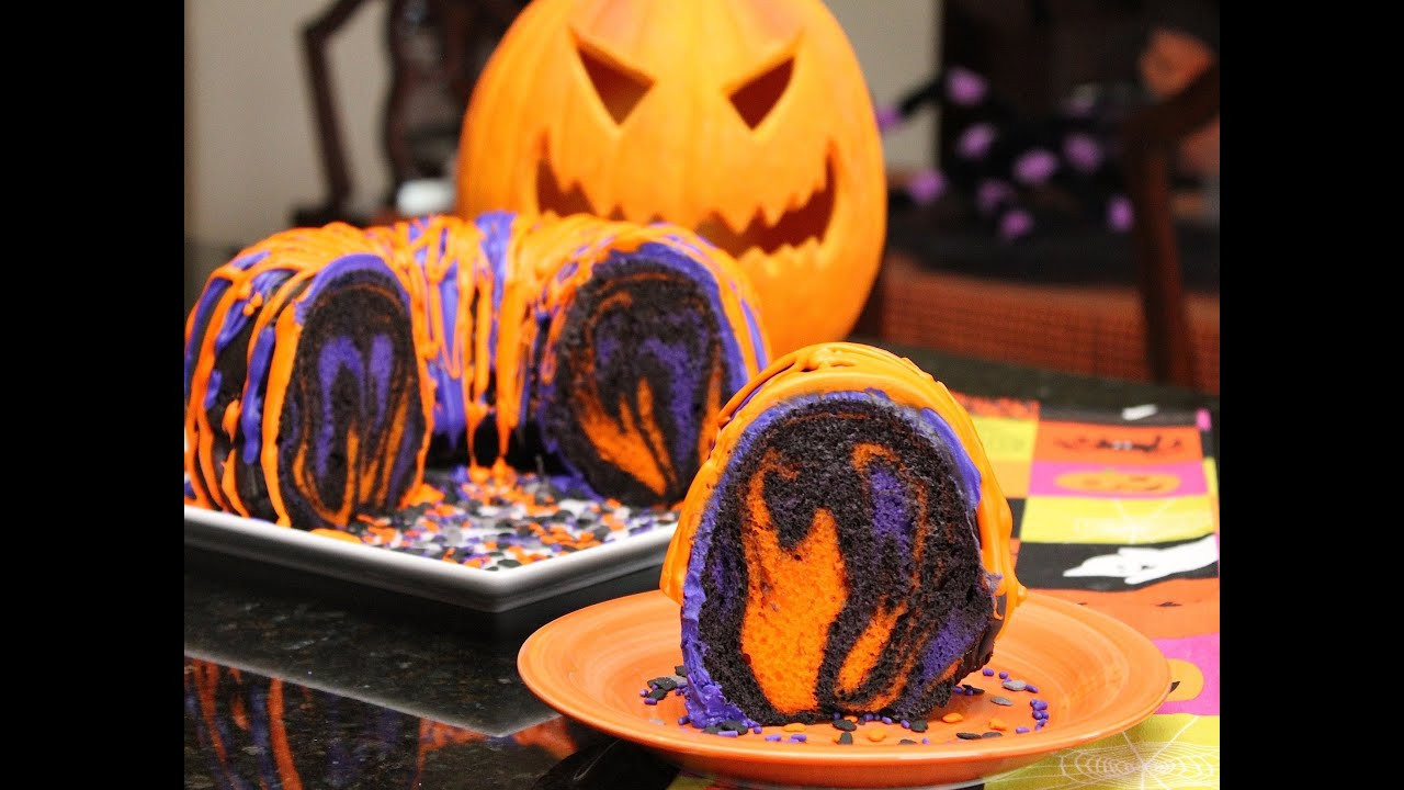 Halloween Cakes Recipes With Pictures  Famous Halloween Rainbow Party Cake Recipes and Ideas