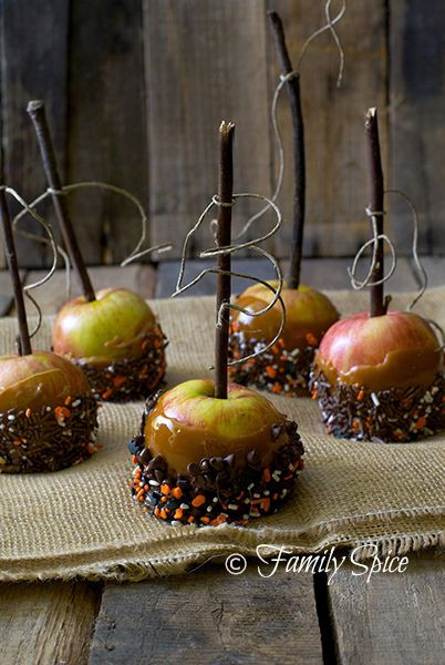 Halloween Caramel Apples  1000 images about GOTHIC HALLOWEEN PARTY DECOR on