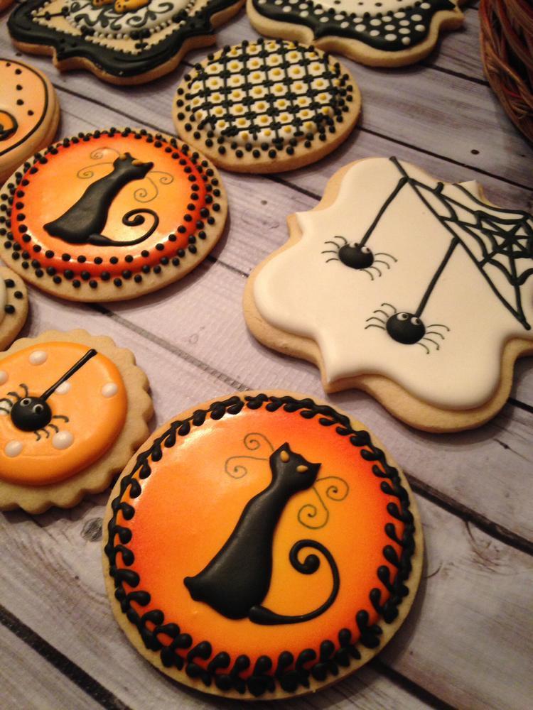 Halloween Cat Cookies  Halloween Sugar Cookies Party XYZ