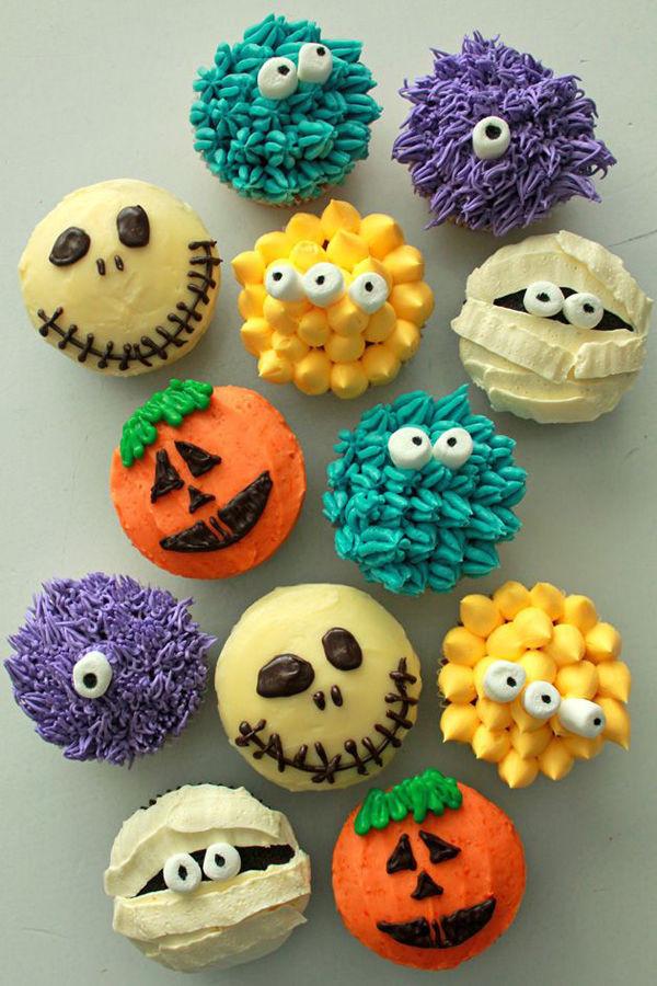 Halloween Cupcakes Decorating Ideas  Adorable Halloween Cupcakes s and