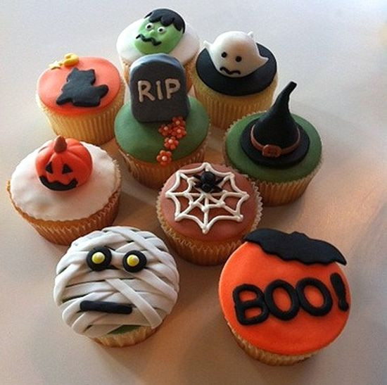 Halloween Cupcakes Decorating Ideas  Cupcakes de Halloween