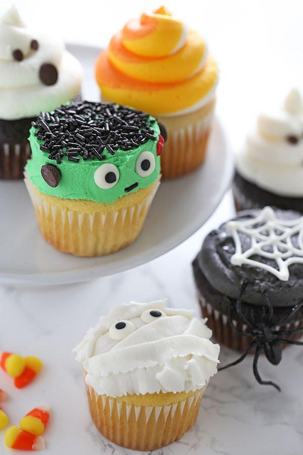 Halloween Cupcakes Ideas  How to Make Halloween Cupcakes Handle the Heat