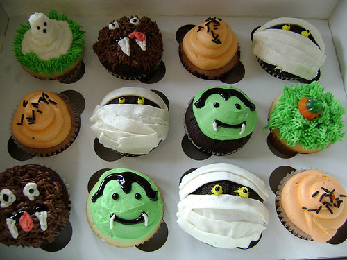 Halloween Cupcakes Ideas  Brown Bear Bakery Fort Mill SC