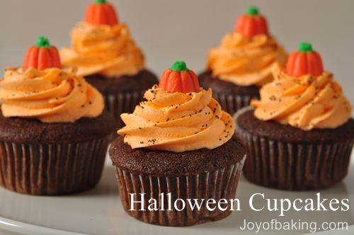Halloween Cupcakes Recipes  Halloween Cupcakes Recipe Joyofbaking Tested Recipe