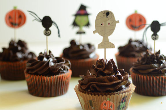 Halloween Cupcakes Recipes  Paleo Halloween Cupcakes Recipe