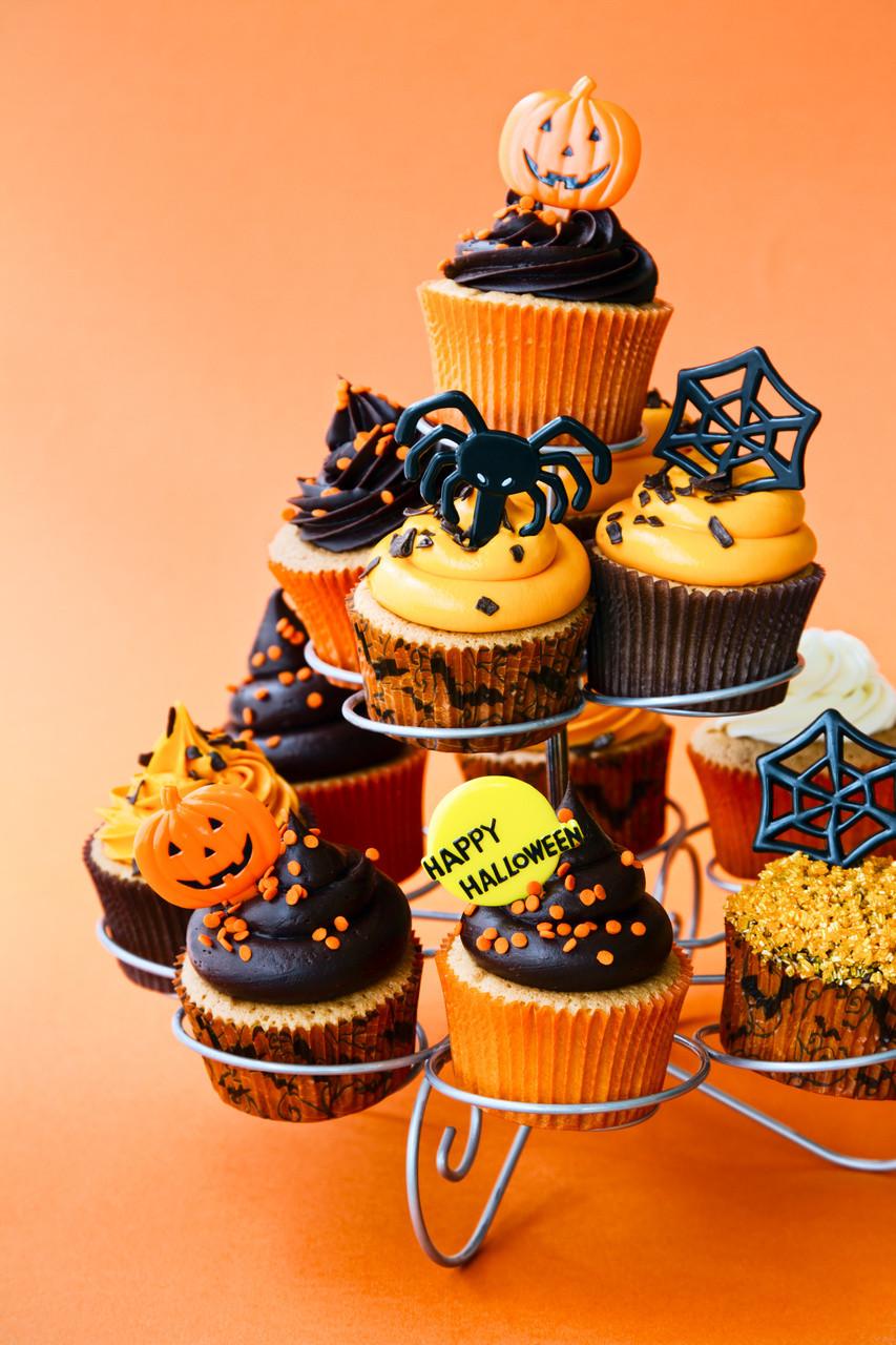 Halloween Cupcakes Toppers  Halloween Cupcake Ideas