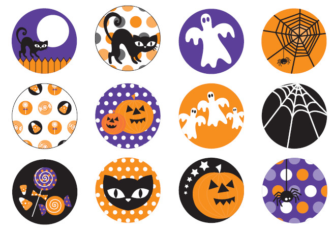 Halloween Cupcakes Toppers  Halloween Cake Toppers – Festival Collections