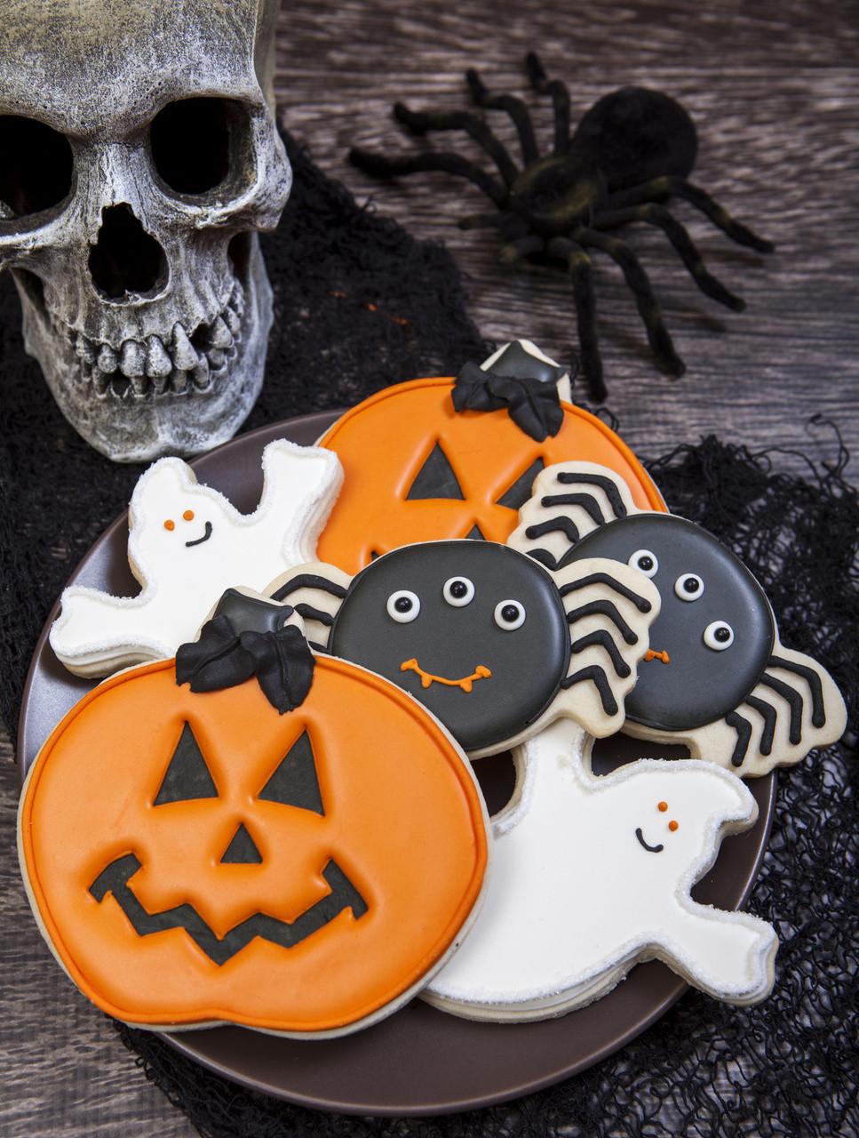 Halloween Decorated Cookies  Spooky Cookie Halloween Cookie Decorations