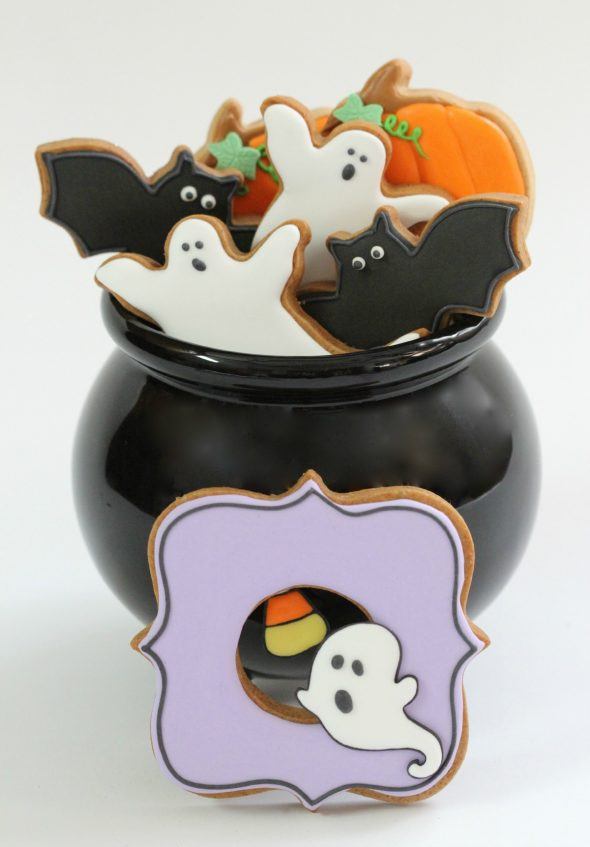 Halloween Decorated Cookies  Can you use anything besides egg whites or meringue powder