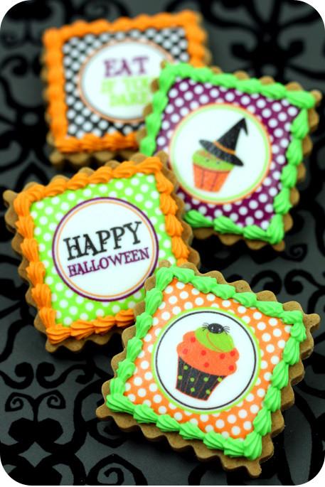Halloween Decorated Cookies  Easy Decorated Cookies for Halloween