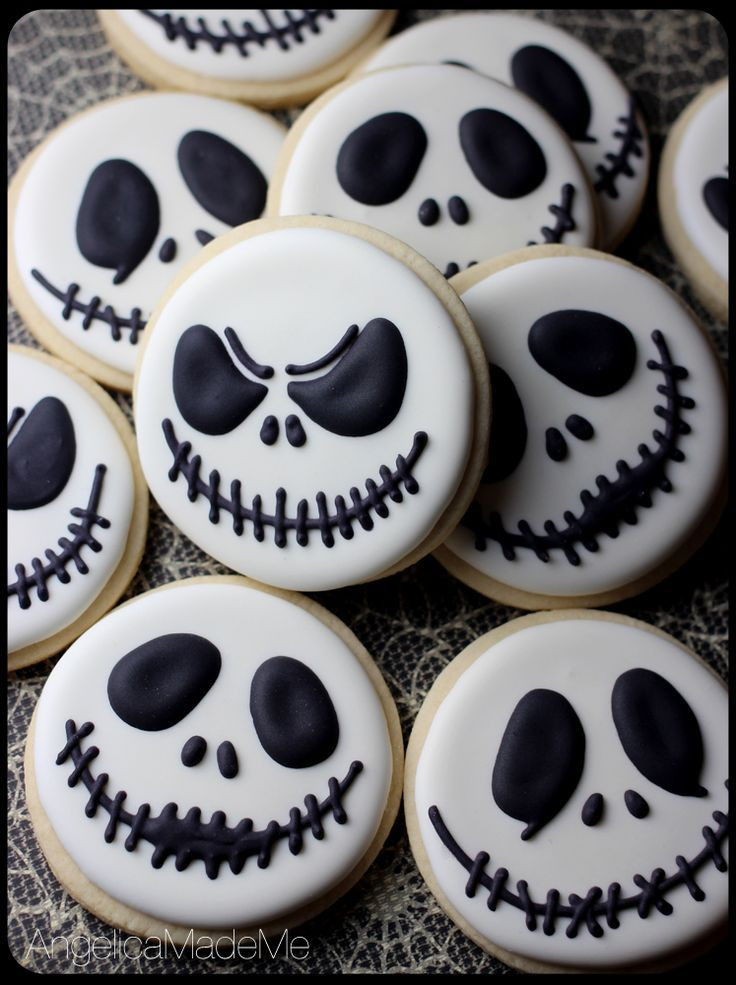 Halloween Decorated Sugar Cookies  Halloween Baking Tips