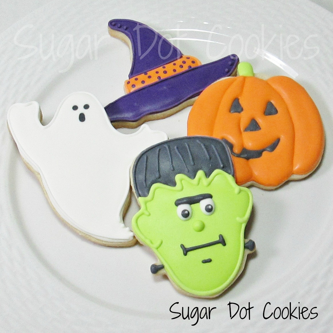 Halloween Decorated Sugar Cookies  Sweet minis to go along with them